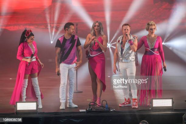 Steps during the Summer of Steps Tour 2018 featuring Steps at the Northern Echo Arena Darlington England on Sunday 27th May 2018