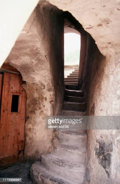 Steps in Guarda, Lower Engadine 1977