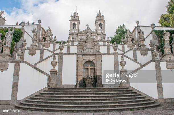 Steps of the Five Senses leading up to Bom Jesus Church