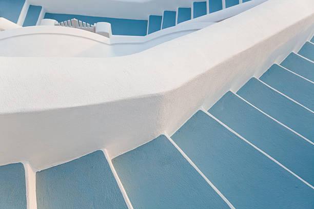 Steps, Oia, Santorini, Cyclades islands, Greece