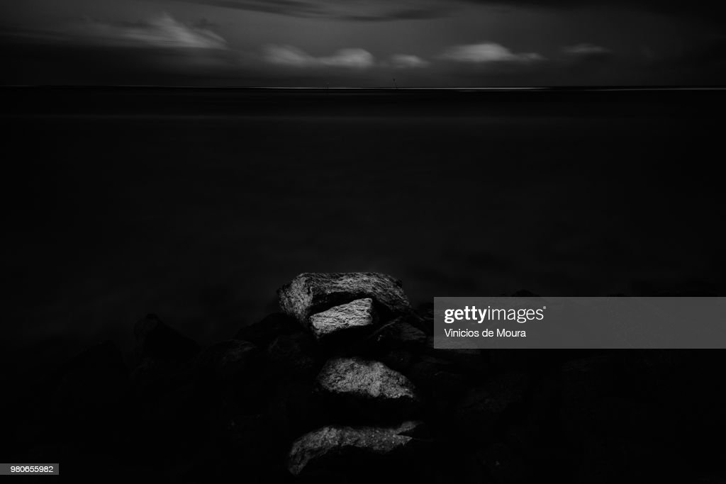 Steps to the Darkness : Stock Photo