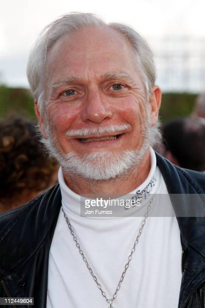 Stepson of CS Lewis Douglas Gresham arrives at the UK Premiere of The Chronicles of Narnia Prince Caspian at the O2 Dome in North Greenwich on June...