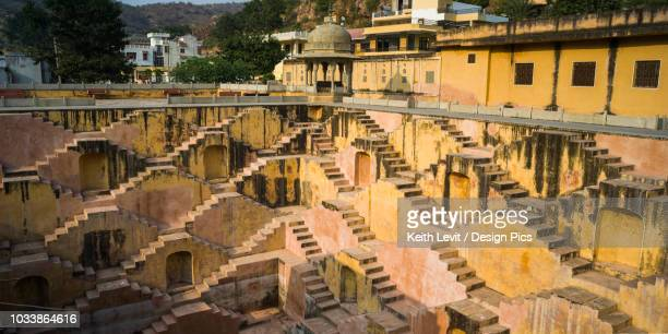 stepwell - stepwell stock photos and pictures