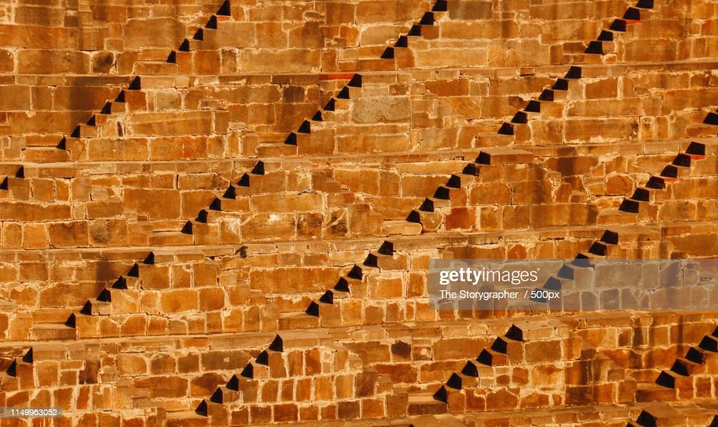 Stepwell - The Ancient Architecture : Stock Photo