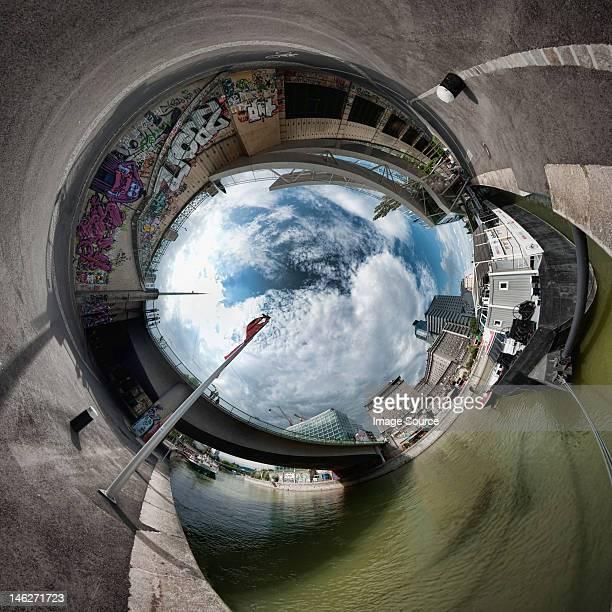 Stereographic image in Vienna, Austria