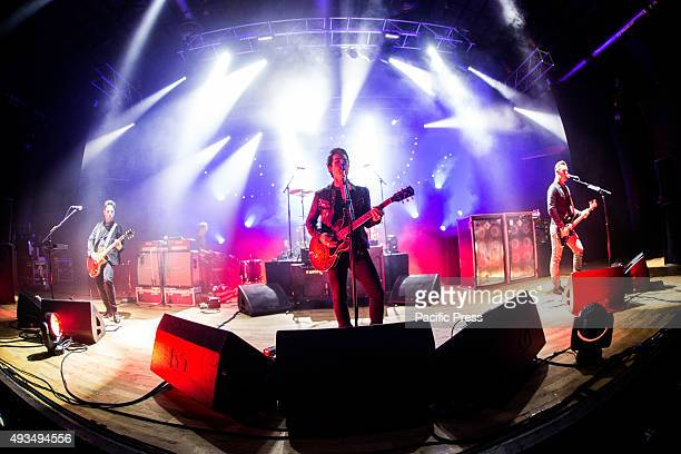 Stereophonics performs live at Alcatraz Stereophonics are a Welsh rock band that formed in 1992 in the village of Cwmaman in Cynon Valley Wales