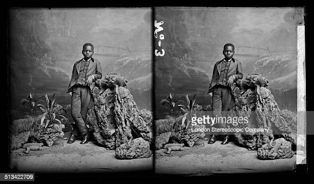 A stereoscopic portrait of Kalulu 8th August 1872 Kalulu was the personal servant and adopted child of Sir Henry Morton Stanley and accompanied the...