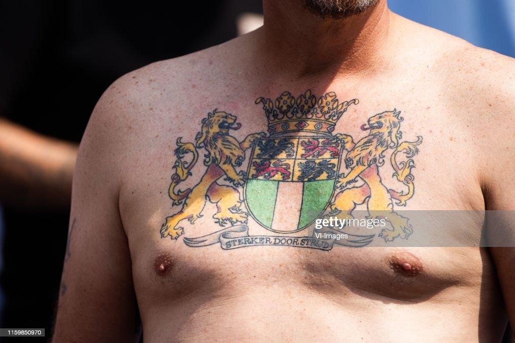 Sterker Door Strijd Tattoo Feyenoord Tattoo Fan Rotterdam