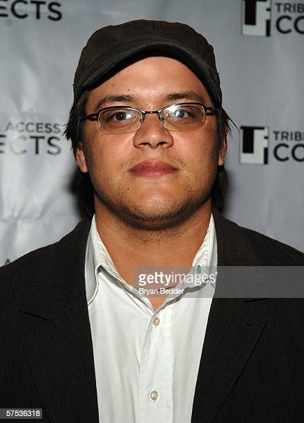 Sterlin Harjo attends the TAA Closing Night Party during the 5th Annual Tribeca Film Festival May 4, 2006 in New York City.