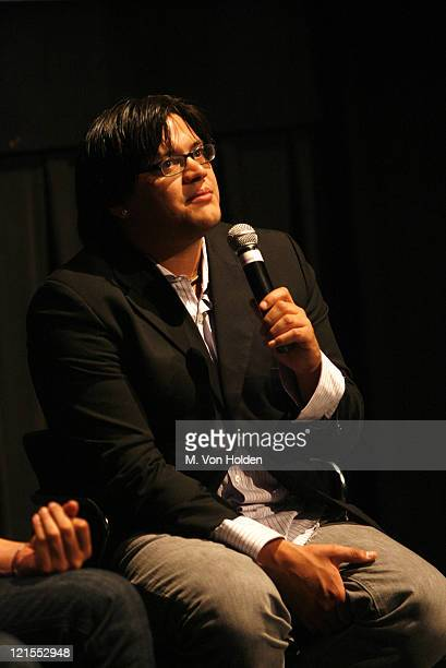 """Sterlin Harjo, Director and Writer during Sundance Institue at BAM Festival 2007 Day 5- Screening and Conversation """"Four Sheets to the Wind"""" at BAM..."""