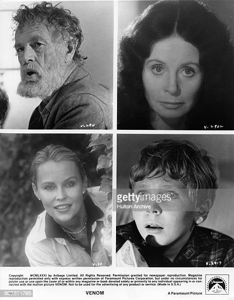 Sterling Hayden and Sarah Miles in scenes from the movie Venom Cornelia Sharpe and Lance Holcomb in a scene from the Paramount Picture movie Venom...