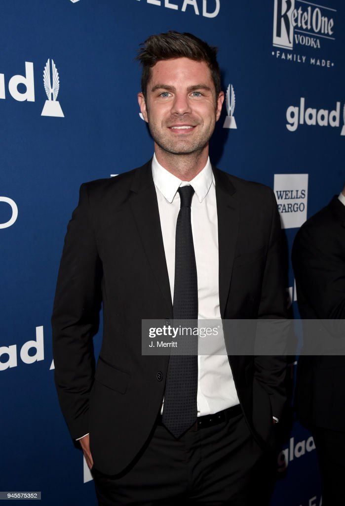 Sterling Jones attends the 29th Annual GLAAD Media Awards at The Beverly Hilton Hotel on April 12, 2018 in Beverly Hills, California.