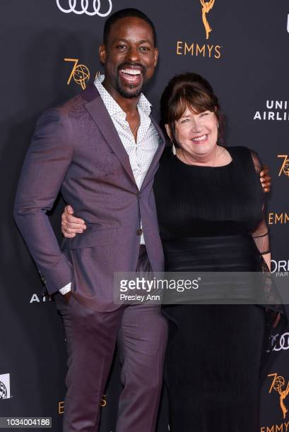 Sterling K Brown and Ann Dowd attend Television Academy Honors Emmy Nominated Performers Arrivals at Wallis Annenberg Center for the Performing Arts...