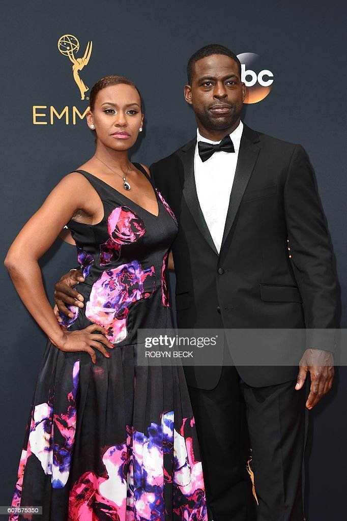 US-ENTERTAINMENT-TELEVISION-EMMYS-ARRIVALS : News Photo
