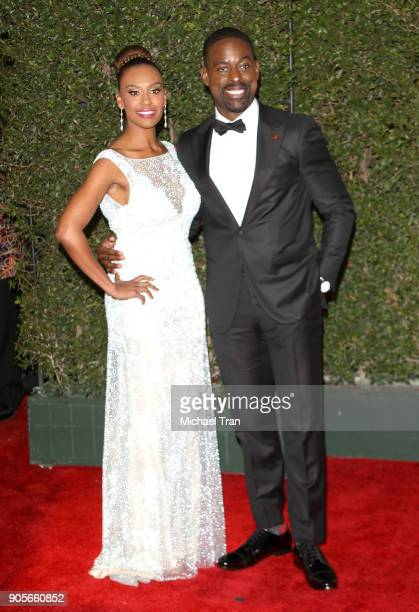 Sterling K Brown and Ryan Michelle Bathe arrive to the 49th NAACP Image Awards held at Pasadena Civic Auditorium on January 15 2018 in Pasadena...