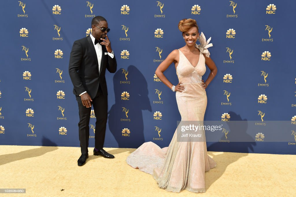 70th Emmy Awards - Arrivals : Nieuwsfoto's