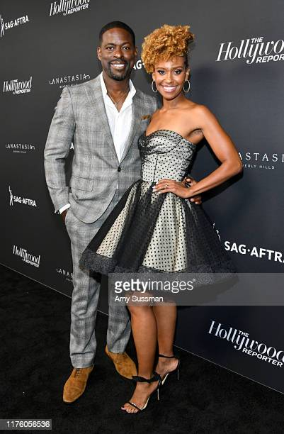 Sterling K Brown and Ryan Michelle Bathe attend The Hollywood Reporter SAGAFTRA 3rd annual Emmy Nominees Night presented by Heineken and Anastasia...