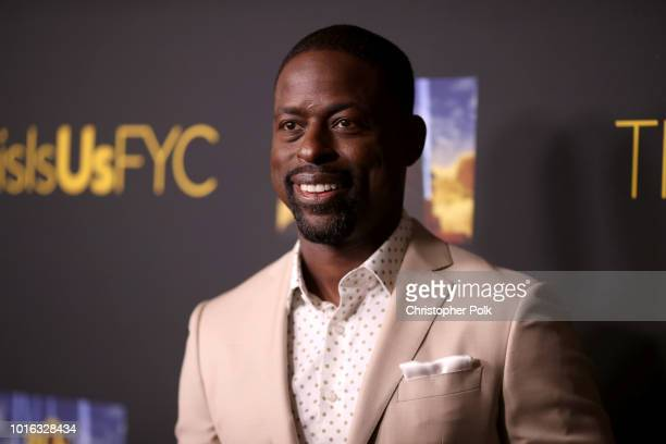 Sterling K Brown attends an evening with This Is Us at Paramount Studios on August 13 2018 in Hollywood California