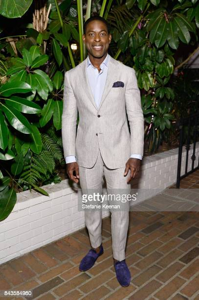 Sterling K Brown attends Esquire Celebrates September Issue's 'Mavericks of Style' Presented by Hugo Boss at Chateau Marmont on September 6 2017 in...