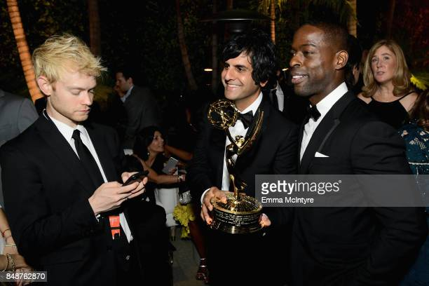 Sterling K Brown attends FOX Broadcasting Company Twentieth Century Fox Television FX And National Geographic 69th Primetime Emmy Awards After Party...
