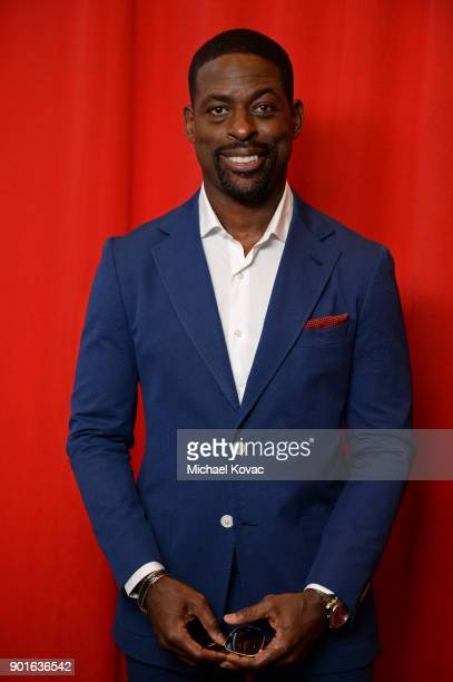 Sterling K Brown attends the 18th Annual AFI Awards at Four Seasons Hotel Los Angeles at Beverly Hills on January 5 2018 in Los Angeles California