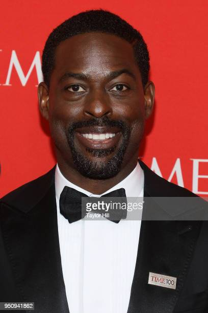 Sterling K Brown attends the 2018 Time 100 Gala at Frederick P Rose Hall Jazz at Lincoln Center on April 24 2018 in New York City