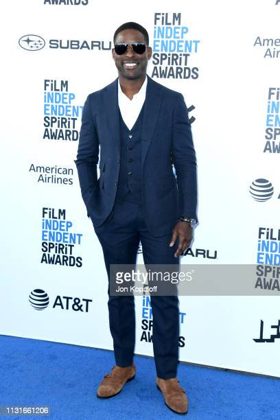 Sterling K Brown attends the 2019 Film Independent Spirit Awards on February 23 2019 in Santa Monica California