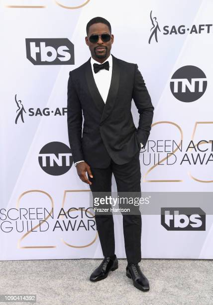 Sterling K Brown attends the 25th Annual Screen ActorsGuild Awards at The Shrine Auditorium on January 27 2019 in Los Angeles California