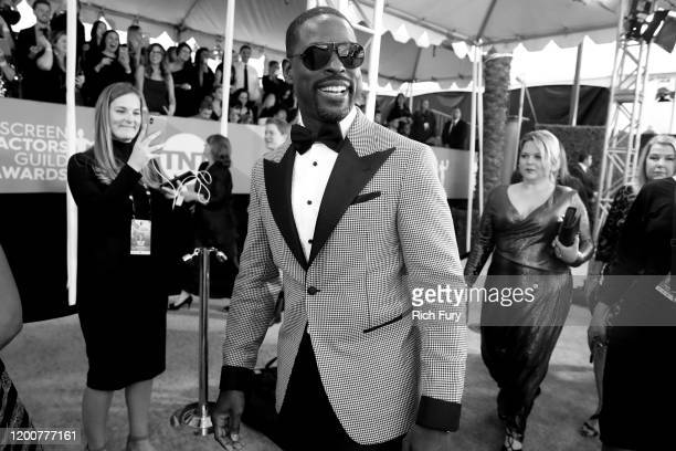 Sterling K Brown attends the 26th Annual Screen Actors Guild Awards at The Shrine Auditorium on January 19 2020 in Los Angeles California