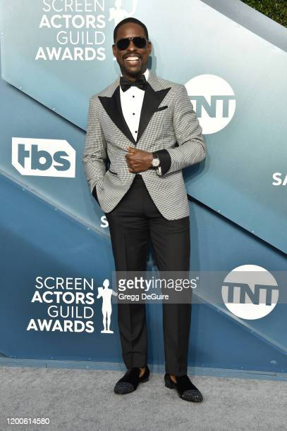 Sterling K. Brown attends the 26th Annual Screen ActorsGuild Awards at The Shrine Auditorium on January 19, 2020 in Los Angeles, California. 721430