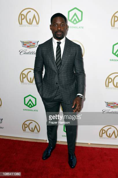 Sterling K Brown attends the 30th annual Producers Guild Awards at The Beverly Hilton Hotel on January 19 2019 in Beverly Hills California