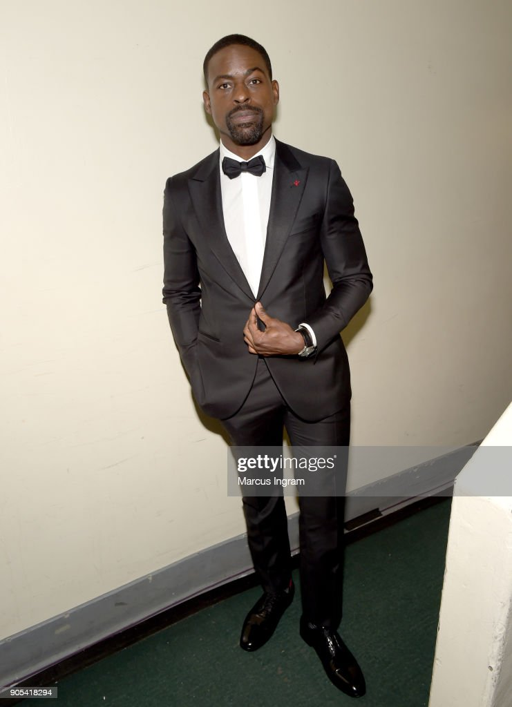 Sterling K. Brown attends the 49th NAACP Image Awards at Pasadena Civic Auditorium on January 15, 2018 in Pasadena, California.