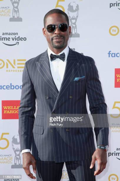 Sterling K Brown attends the 50th NAACP Image Awards at Dolby Theatre on March 30 2019 in Hollywood California