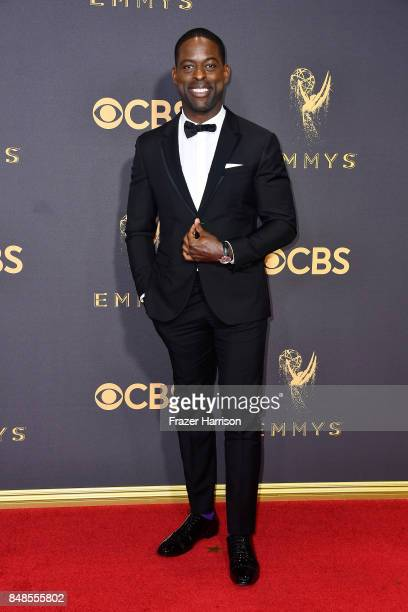 Sterling K Brown attends the 69th Annual Primetime Emmy Awards at Microsoft Theater on September 17 2017 in Los Angeles California