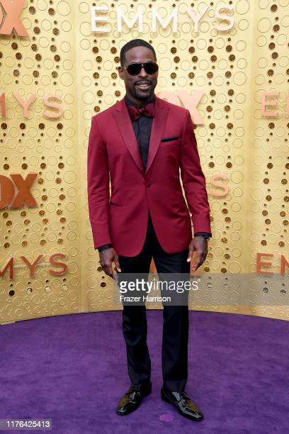 Sterling K Brown attends the 71st Emmy Awards at Microsoft Theater on September 22 2019 in Los Angeles California