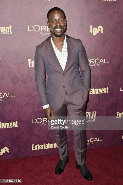 Sterling K Brown attends the Entertainment Weekly PreEmmy Party 2018 at Sunset Tower Hotel on September 15 2018 in West Hollywood California