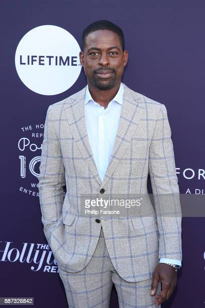 Sterling K Brown attends the Hollywood Reporter/Lifetime WIE Breakfast at Milk Studios on December 6 2017 in Hollywood California