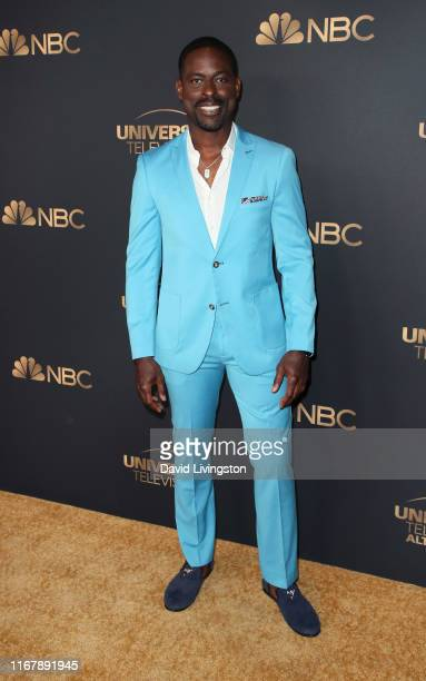 Sterling K Brown attends the NBC and Universal EMMY nominee celebration at Tesse Restaurant on August 13 2019 in West Hollywood California