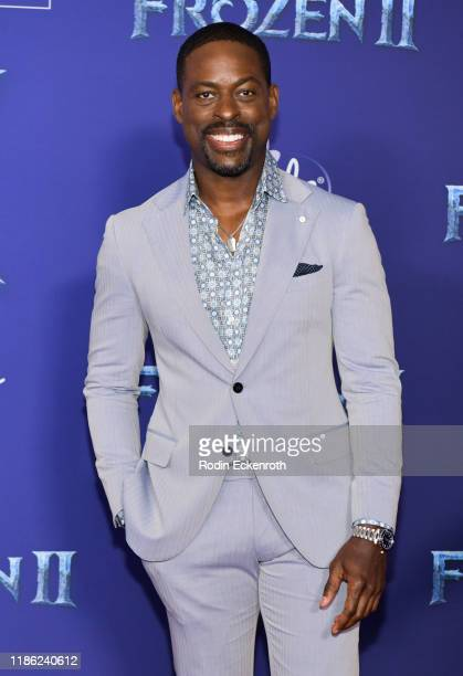 Sterling K Brown attends the Premiere of Disney's Frozen 2 at Dolby Theatre on November 07 2019 in Hollywood California