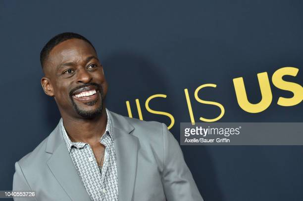 Sterling K Brown attends the premiere of NBC's 'This Is Us' Season 3 at Paramount Studios on September 25 2018 in Hollywood California