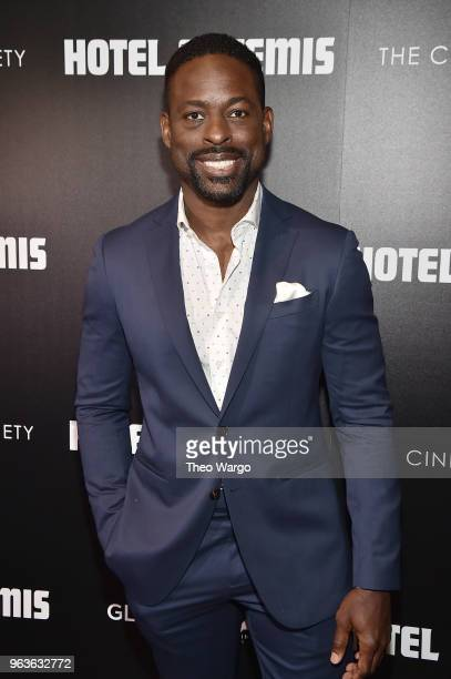 Sterling K Brown attends the screening of 'Hotel Artemis' at Quad Cinema on May 29 2018 in New York City