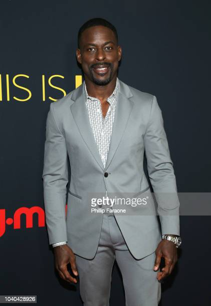 Sterling K Brown attends the Season 3 Premiere of NBC's 'This Is Us' at Paramount Studios on September 25 2018 in Hollywood California