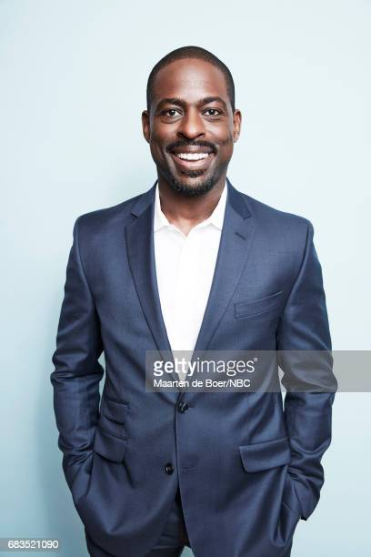 Sterling K Brown of This is Us poses for a photo during NBCUniversal Upfront Events Season 2017 Portraits Session at Ritz Carlton Hotel on May 15...