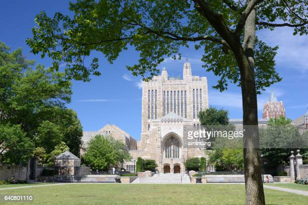 Sterling Memorial Library in Yale University