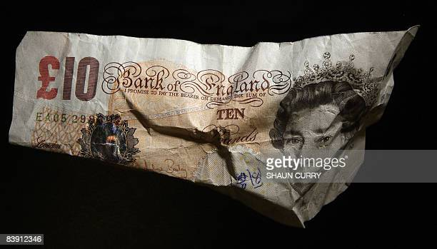 British Pound Sterling Note Stock Photos Pictures Getty Images Pictured