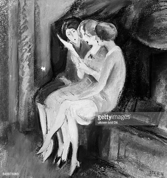 Stern Ernst *01041876Bildender Künstler Zeichner MalerSzenograf Rumänien Der Liebesbrief veröff 1927