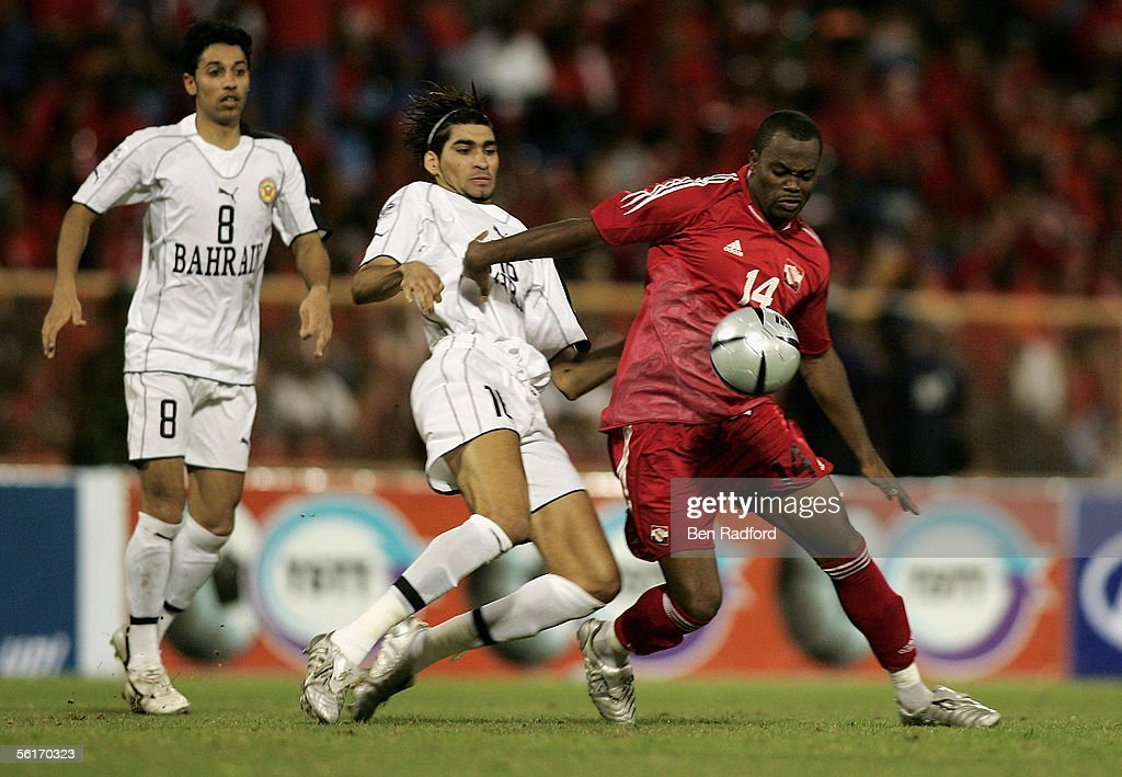 FIFA 2006 World Cup Playoff - Trinidad & Tobago : News Photo
