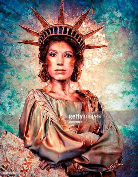 Stern Lady Liberty