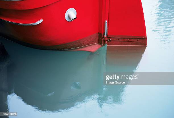 Stern of a boat
