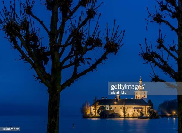 Österreich Oberösterreich Gmunden Traunsee Seeschloss Ort bekannt aus der Fernsehserie Schlosshotel Orth